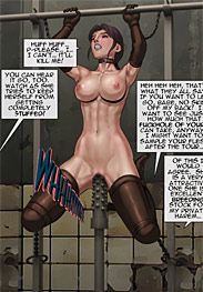 With each step, the girl gets fucked in one hole - The slave factory part 2, part 3 (fansadox 386-387) by Feather