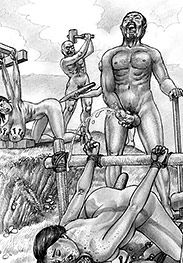 I'm cumming again - Roman crucifixions by Marcus