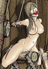 BDSM comic - The woods have eyes by Gary Roberts